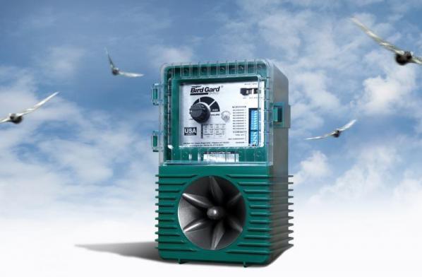 Effaroucheur électronique sonore b2 anti pigeons, moineaux, etourneaux, mouettes